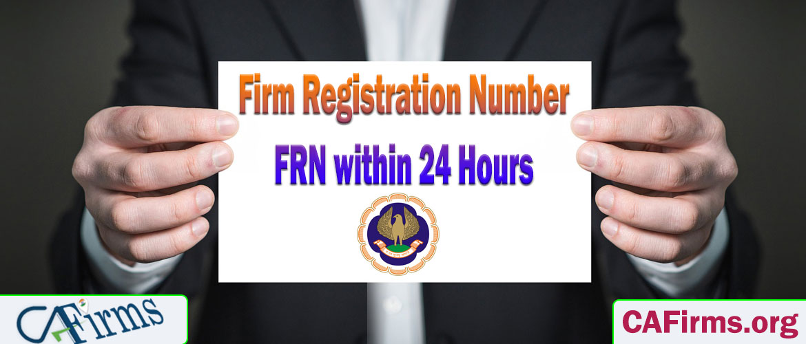 Get Firm Registration Number (FRN) within 24 Hours
